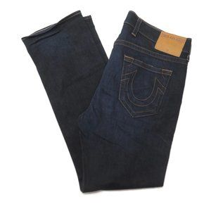 True Religion Jeans Ricky Relaxed Straight 40 x 35